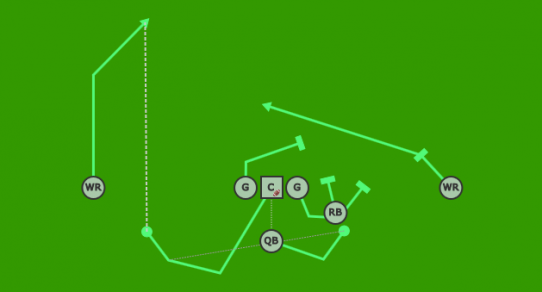 flag football plays   design your own playsplay diagram