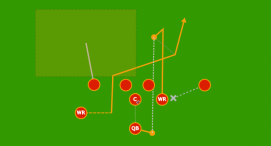 flag football plays   design your own playsplayart diagram